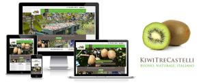 Kiwi Tre Castelli, online il nuovo sito web